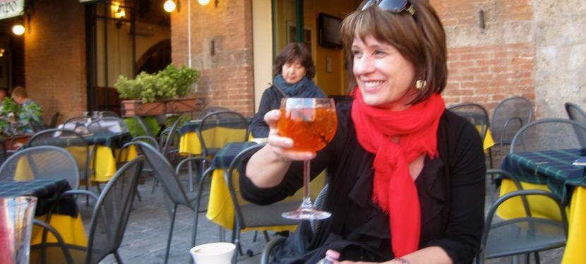 Uno Spritz in Siena.Anticipazione