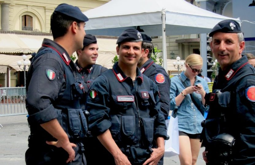 Carabinieri. Searching for My ItalianStyle.