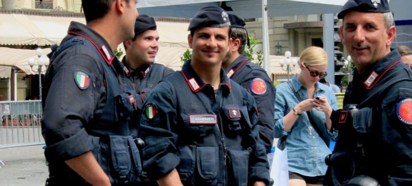 Carabinieri. Searching for My Italian Style.