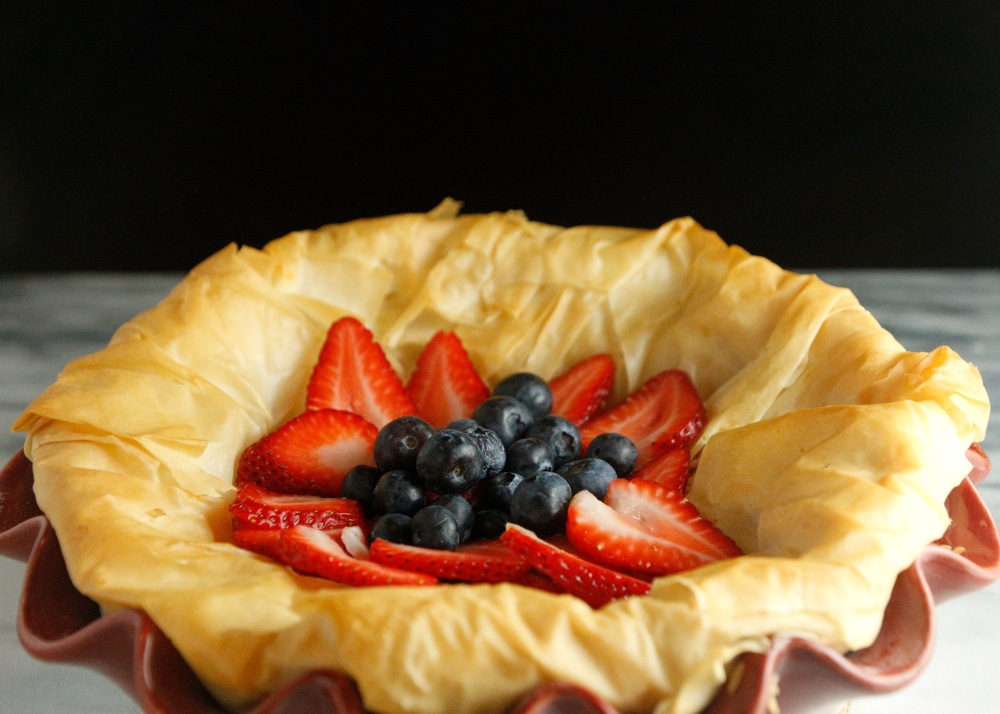 Phyllo berries pie bbeeman